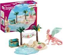Schleich 42436 bayala Spielset - Dracheninsel mit Schatz, Spielzeug ab 5 Jahren