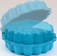 DUBLINO 'Sand/Wassermuschel', 2-teilig, blau