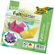 """Glorex Faltblätter 70g farb. sortiert"""" """"10 x 10 cm, 100 Blatt"""""""""""