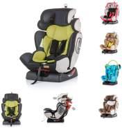 Chipolino Kindersitz 4 Max Gruppe 0+/1/2/3 (0-36 kg), Seitenaufprallschutz, Farbe:grau grün