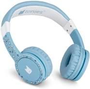 Tonies 'Tonie-Lauscher' Hellblau, Kinder-Kopfhörer passend zur Toniebox, Lautstärke reguliert, abnehmbares Kabel, größenverstellbar, bewegliche Ohrmuscheln