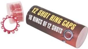 Amorces 12er Ring 720 Schuß Munition Pistole Cowboy Party Karneval