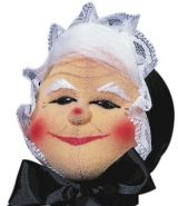Kersa 12560 - Kasperfigur Großmutter, 30 cm Handpuppe