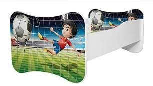 Angelbeds 'Mati Mati' Kinderbett 80 x 160 cm, Motiv 10, mit Lattenrost, Matratze und mit Bettschublade