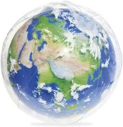 "Bestway Wasserball ""Earth Glowball"" mit LED-Licht 61 cm"
