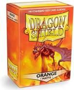 Arcane Tinmen ApS ART11013 Sleeves Orange Nein Dragon Shield Matte (100 Stück), Spiel