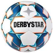 Derbystar Kinder Stratos S-Light, 1038500167 Fußball, Weiss blau orange, 5