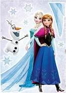 Komar Wandtattoo Frozen Sisters