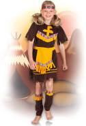 Kinderkostüm 82172 - Indianerin, braun