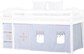 HOPPEKIDS Fairytale Knight Vorhang für Spielbett oder Etagenbett 90x200cm 36-4601-LB-09A
