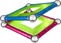 Geomag, Classic Glitter 530, Magnetkonstruktionen und Lernspiele, 22-teilig