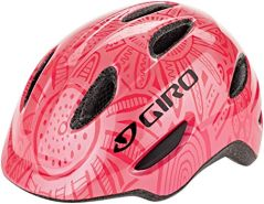 Giro Unisex Jugend Scamp Fahrradhelm Youth, Bright pink-Pearl, S, 49-53cm