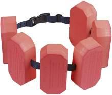 Schwimmgürtel 6 schwimmt 30 bis 60 kg rot