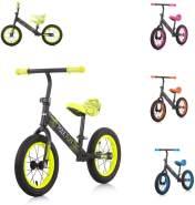 Chipolino Laufrad Max Fun, Lufträder, Sitz verstellbar, Neon-Design, Gummigriffe grün