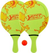 Best Sporting Neopren Beach-Ball-Set, Verschiedene Farbausführungen (grün/orange)
