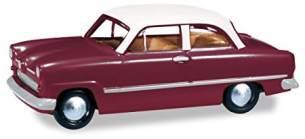 herpa 024686-004 Ford Taunus Weltkugel, PKW zum Basteln und Sammeln, Mehrfarbig