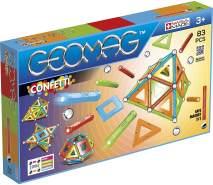Geomag, Classic Confetti, 356 Magnetkonstruktionen und Lernspiele, Konstruktionsspielzeug, 83-teilig