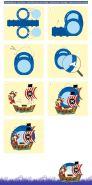 Ursus 18710008 - Laternen Bastelset Easy Line, Pirat, ca. 21,8 x 21 x 10,3 cm, Set zum Basteln einer Laterne, inklusive Schritt für Schritt Anleitung, ideal für den nächsten Laternenlauf