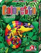 ABACUSSPIELE 08132 Coloretto, Kartenspiel, Black