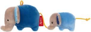 sigikid, Jungen, Rassel, Elefanten, Red Stars, Blau, 42290
