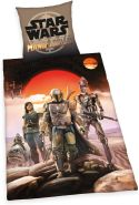 Star Wars Wende Bettwäsche Set The Mandalorian 2 tlg. 135 x 200 cm 80 x 80 cm