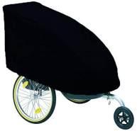 Winther Regenschutz für Dolphin und Marlin Fahrradanhänger, Farbe:black