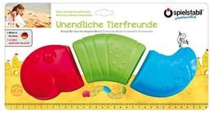 Spielstabil 7443 Unendliche Tierfreunde - Wurm Sandförmchen