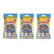 Hama 207-54 Glitter Mix Midi Beads 3000 pcs (3x1000pcs)