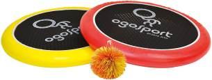 Schildkröt Funsports Softdisc Ogo Sport Set, Standardgrösse, rot, gelb, durchmesser 29 cm, 970117