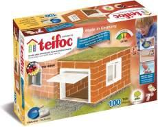 """Teifoc TEI 4060 Bausatz """"Garage"""" mit echten Ziegeln"""