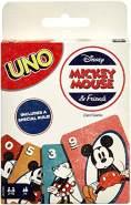 Mattel Games GGC32 - UNO Disney Micky Maus & seine Freunde Kartenspiel, geeignet für 2 - 10 Spieler, Kartenspiele und Kinderspiele ab 7 Jahren