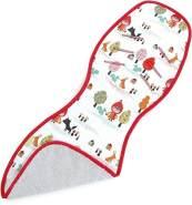 Priebes Frieda Sitzauflage für Babyschalen | Atmungsaktive Universal Sommer-Sitzeinlage | ideale Alternative zum Sommerbezug, Design:rotkäpchen