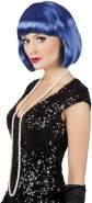 Boland 85896 Erwachsenenperücke 'Cabaret', blau, One Size