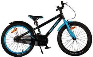 Fahrrad - Volare Rockey - 20 Zoll - schwarz/blau