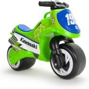 Laufrad als Motorrad Neox Kawasaki Jungen 70 cm grün/blau