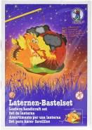 Ursus 18710009 - Laternen Bastelset Easy Line, Feuerdrache, ca. 21,8 x 21 x 10,3 cm, Set zum Basteln einer Laterne, inklusive Schritt für Schritt Anleitung, ideal für den nächsten Laternenlauf