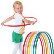 hoopomania® Kinder Hula Hoop Reifen, Durchmesser 70cm in rot