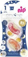 nip Beruhigungssauger ''Cherry Night'' Gr. 1 (1 Packung, keine Farbwahl)