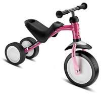 PUKY 3041 'PUKYMOTO' Laufrad, für Kinder ab 83 cm Körpergröße, bis 20 kg belastbar, höhenverstellbar, berry/rose