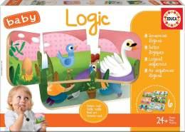 Educa 18120 Baby Logic Puzzle, Varié