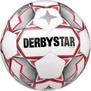 Derbystar Kinder Apus S-Light, 1158300093 Fußball, Weiss grau rot, 3