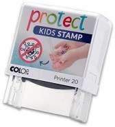 Handwaschstempel protect kids stamp
