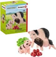 Schleich 42422 Farm World Spielset - Mini-Schwein Mutter und Ferkel, Spielzeug ab 3 Jahren