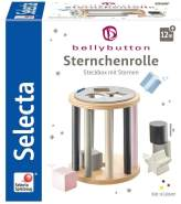 Selecta 64017 Sternchenrolle, Sortierrolle aus Holz, Bellybutton, 13 cm, bunt