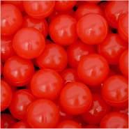 50 Bälle für Bällebad 5,5cm Babybälle Plastikbälle Baby Spielbälle Rot