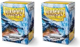 Dragon Shield 11028 Matte Sleeves Kartenhhüllen, Sapphire
