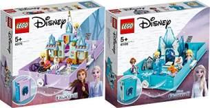 LEGO® Disney Frozen 2er Set: 43175 Annas und Elsas Märchenbuch + 43189 Elsas Märchenbuch