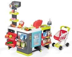 Simba Dickie Maxi Supermarkt mit Einkaufswagen und Zubehör