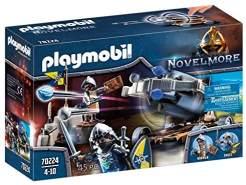 PLAYMOBIL Novelmore 70224 Novelmore Geniale Wasserballiste, für Kinder von 8 Jahren