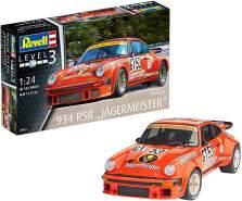 Revell Modellbausatz Auto 1:24 - Porsche 934 RSR 'Jägermeister' im Maßstab 1:24, Level 3, originalgetreue Nachbildung mit vielen Details, 07031
